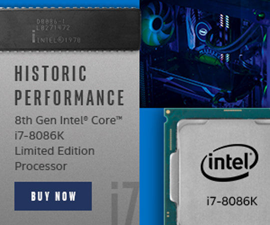 intel limited edition core i7-8087k